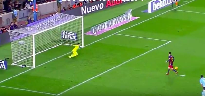 YouTube, Messi-Suarez ed il rigore di seconda