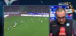 """Napoli - Milan, Sarri: """"Pizzico di culo è mancato"""" VIDEO"""