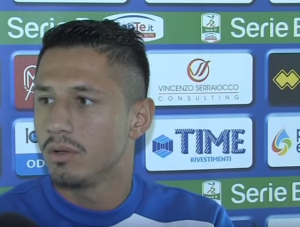 Gianluca Lapadula, foto da YouTube