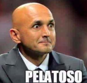 Luciano Spalletti #pelatoso: ironia sul web FOTO