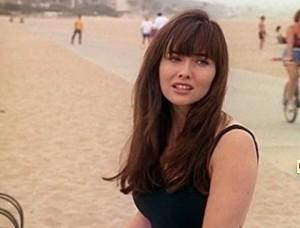 L'attrice Shannen Doherty, diventata popolare per aver interpretato Brenda nella serie Tv Beverly Hills 90210