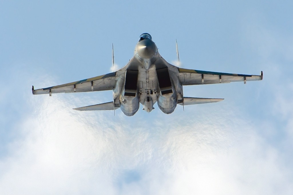 Caccia Sukhoi Su-35s, il Terminator di Putin 06