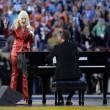 Superbowl Lady Gaga canta inno americano7