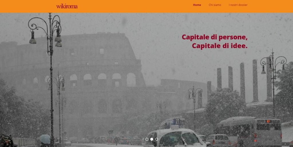 WikiRoma, il blog per far rinascere Roma2