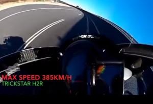 YOUTUBE Kawasaki da record a 385 km/h, meglio della MotoGp