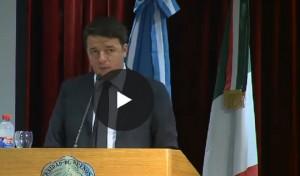 YOUTUBE Matteo Renzi gaffe, cita Borges ma la poesia...