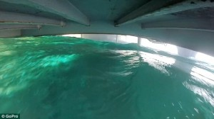 YOUTUBE Nave che affonda: ecco come si vede dall'interno