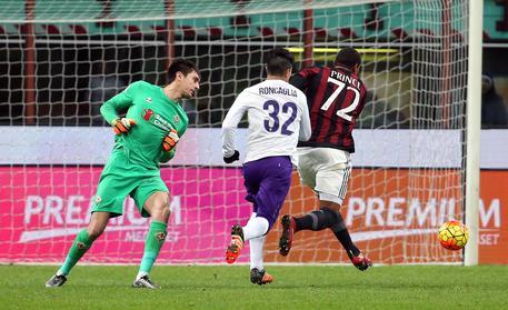 Soccer: Serie A; AC Milan-ACF Fiorentina