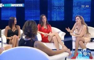 Guarda la versione ingrandita di A bocca aperta, trash talk-show su Canale Italia 53