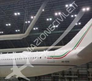 Aereo Renzi: nuovo jet a Fiumicino. Di notte, in segreto...