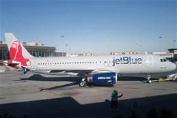 Un aereo della Jetblue
