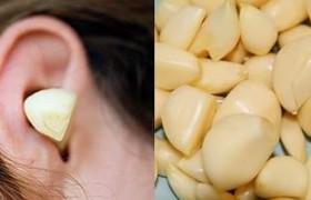 Spicchio d'aglio nell'orecchio: ecco perché molti lo fanno
