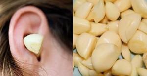 Guarda la versione ingrandita di Spicchio d'aglio nell'orecchio: ecco perché molti lo fanno