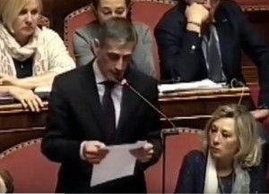 """Airola (M5S): """"Vaffa"""" ai colleghi prima del voto"""