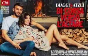 Guarda la versione ingrandita di Max Biaggi e Bianca Atzei su Chi