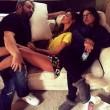 """Belen Rodriguez dorme VIDEO e FOTO: """"Gente che lavora"""