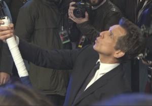 YOUTUBE Ben Stiller, selfie stick da Guinness FOTO