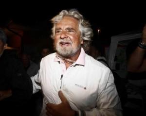 Guarda la versione ingrandita di Beppe Grillo (Foto Lapresse)