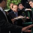 """Berlusconi: """"Io vegetariano? Cado dalle nuvole…"""""""