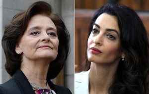 Amal Clooney contro Cherie Blair e i dollari delle Maldive
