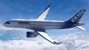 Un aereo della Bombardier