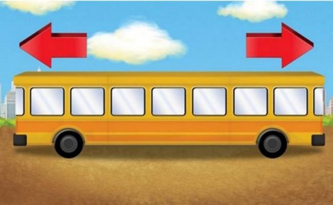 Bus, da che parte va? Guarda foto e rispondi all'indovinello