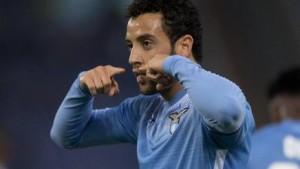 Guarda la versione ingrandita di Calciomercato, Felipe Anderson è felice di essere rimasto nella Lazio (foto Ansa)