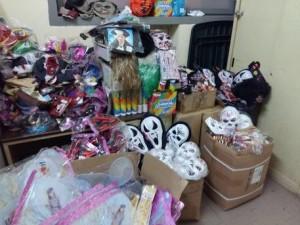 Carnevale Napoli: sequestro 20mila maschere rischio tossine