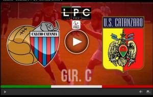 Catanzaro-Catania Sportube: streaming diretta live su Blitz