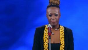 """Guarda la versione ingrandita di """"N.E.G.R.A."""", la canzone provocatoria di Cecile a Sanremo"""
