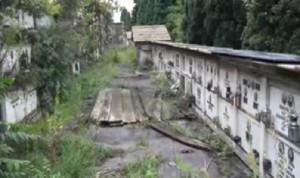 Guarda la versione ingrandita di Riti satanici e salme sparite: cimitero da brivido a Genova