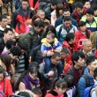 Cina, neve record: in 100mila bloccati in stazione FOTO3