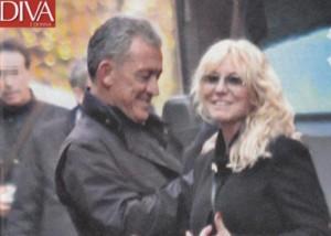 Antonella Clerici e Eddy Martens insieme dopo la scappatella