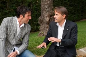 Guarda la versione ingrandita di Marco Corini (a sinistra) con Gianluigi Buffon
