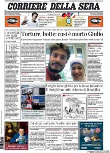 Guarda la versione ingrandita di Prime pagine dei giornali del 5 febbraio 2016