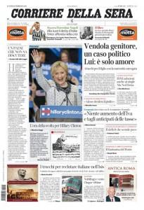 Guarda la versione ingrandita di Nichi Vendola, Juve-Inter: le prime pagine del 29 febbraio