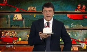 """Crozza-Renzi su unioni civili: """"Pd ha adottato Alfano"""""""