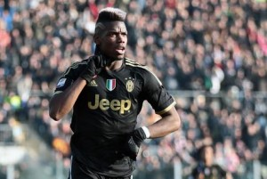 Juventus, Pogba nella foto Ansa