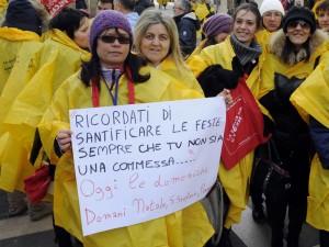 Cassazione: no sanzioni a chi non vuole lavorare la domenica
