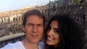 Garcia con la Brienza (foto Ansa)