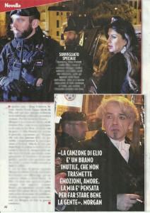 Guarda la versione ingrandita di Morgan si infuria con Elio, arriva Alba Parietti e… FOTO