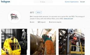 Eni lancia Instagram e Google+: sempre più social
