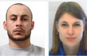 La coppia diabolica è in fuga verso l'Italia? <br /> Lui è uno stupratore evaso, lei una guardia