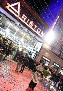 Guarda la versione ingrandita di Dolcenera sul red carpet del 66° Festival di Sanremo ANSA/CLAUDIO ONORATI