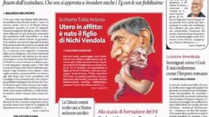 """Guarda la versione ingrandita di Nichi Vendola, nato """"figlio"""", polverone su utero in affitto"""