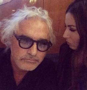 Flavio Briatore ed Elisabetta Gregoracci