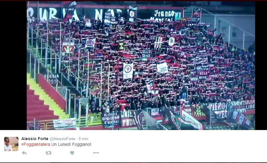 Foggia-Matera Sportube: streaming diretta live su Blitz
