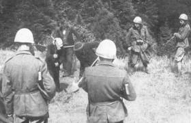 Soldati italiani fucilati come disertori a guerra finita