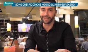 """Giacomo Urtis: """"Sono così ricco che non so quanto guadagno"""""""