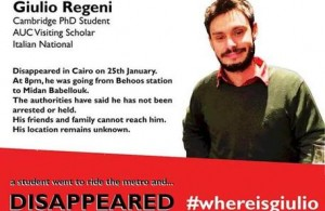 """Giulio Regeni sparito al Cairo. Farnesina: """"Forse è morto"""""""